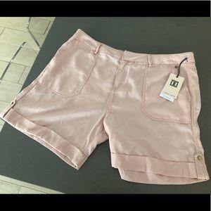 Ivanka Trump NWT Pink Bermuda Shorts